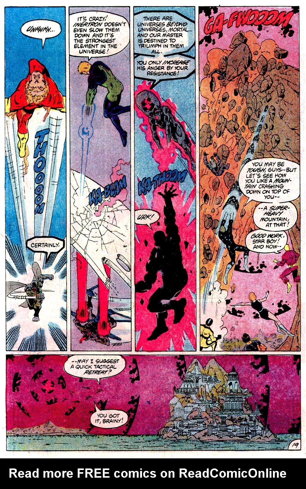Legion of Super-Heroes (1980) 292 Page 19