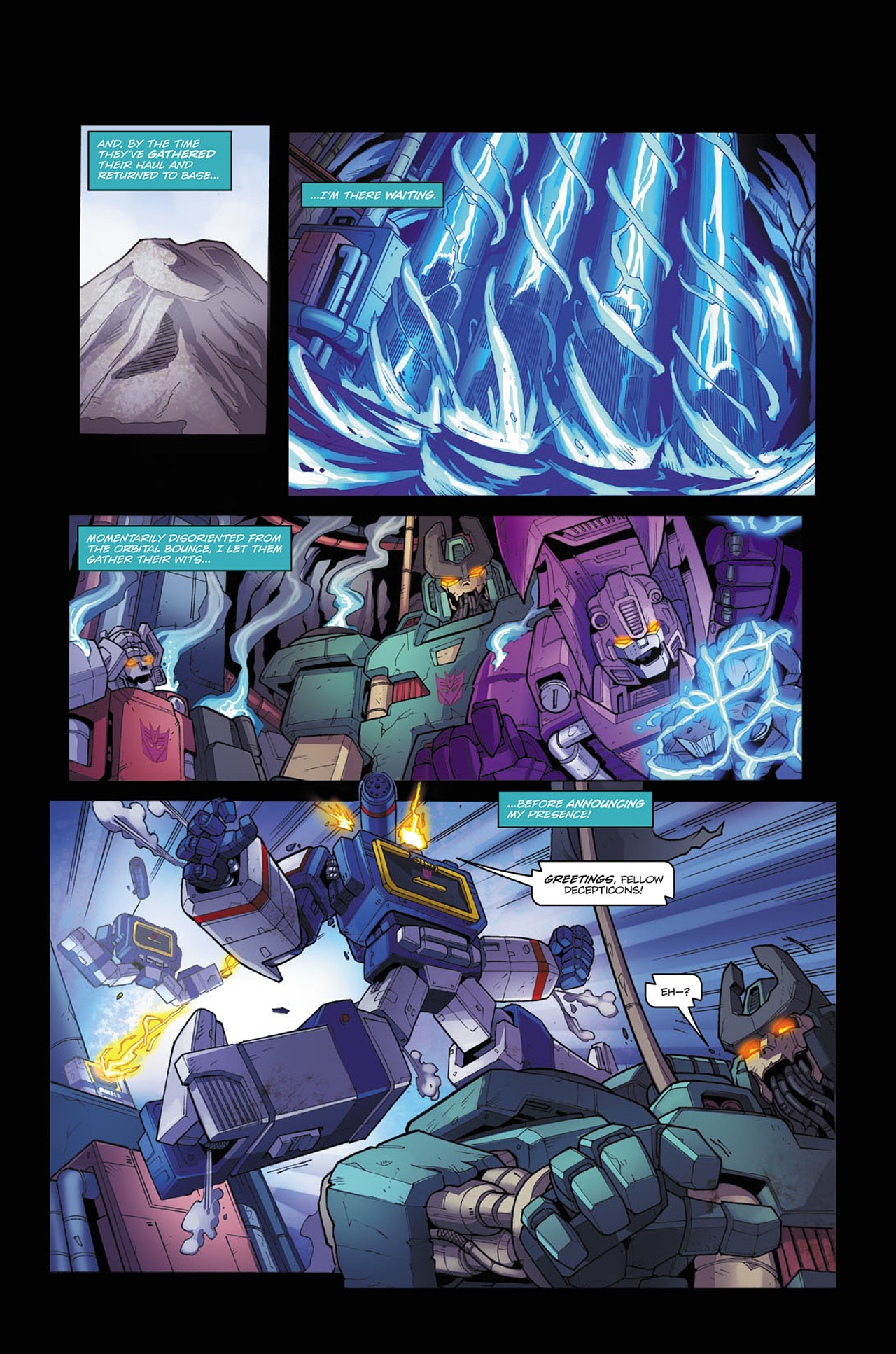Read online Transformers Spotlight: Soundwave comic -  Issue # Full - 15