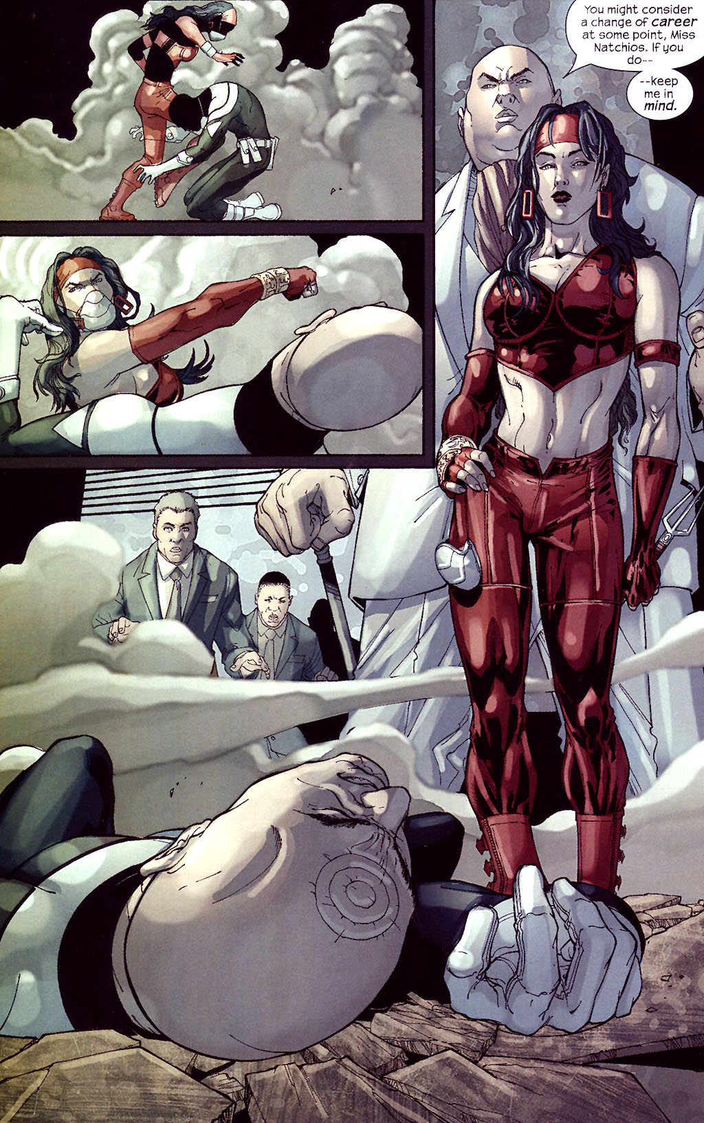 Read online Ultimate Elektra comic -  Issue #5 - 22