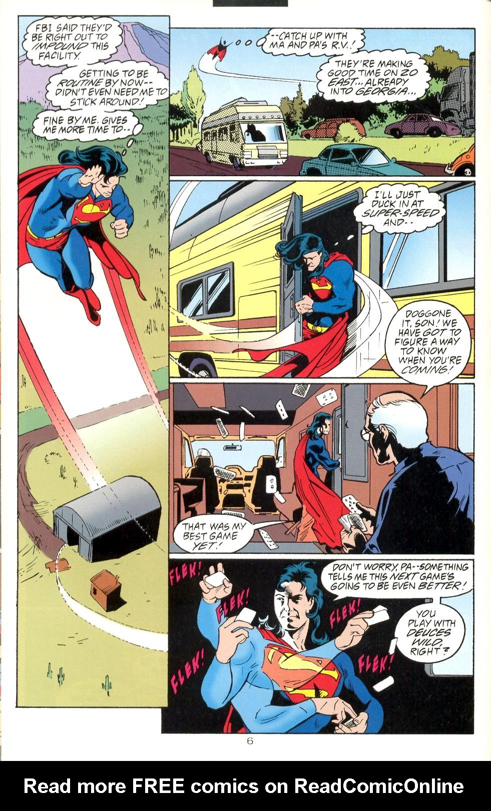 Read online Adventures of Superman (1987) comic -  Issue #525 - 7