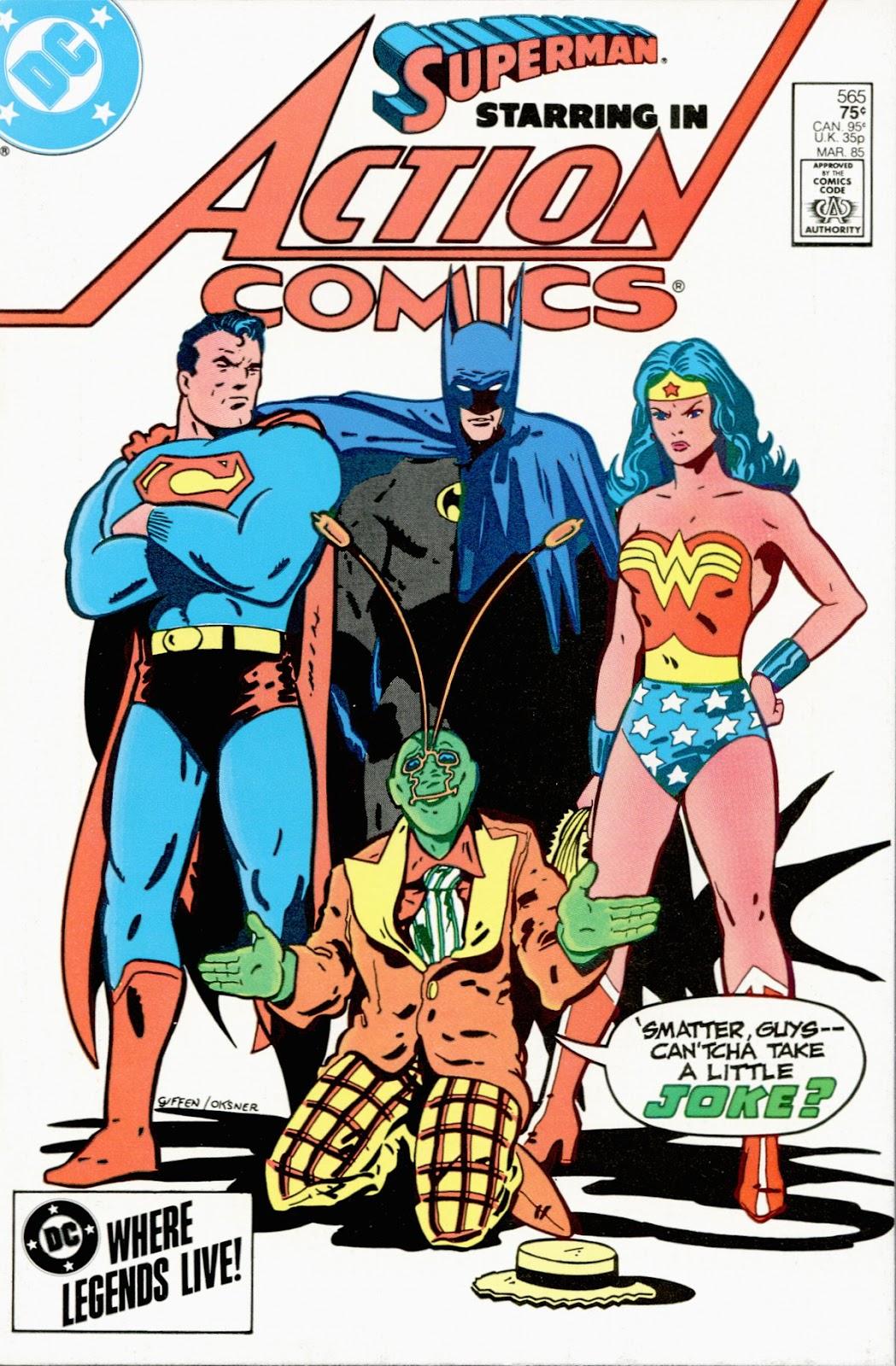 Action Comics (1938) 565 Page 1