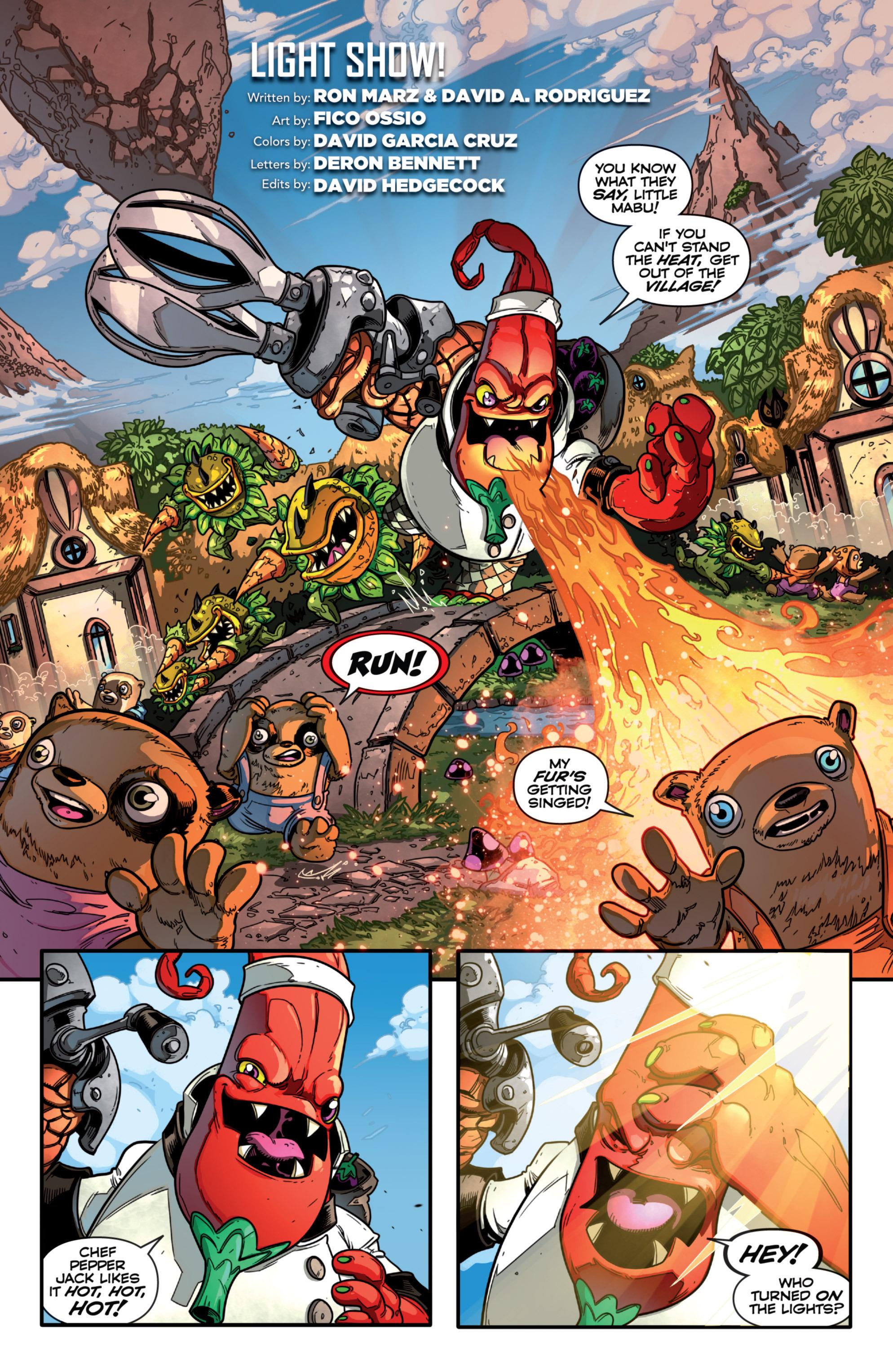 Read online Skylanders comic -  Issue #7 - 19