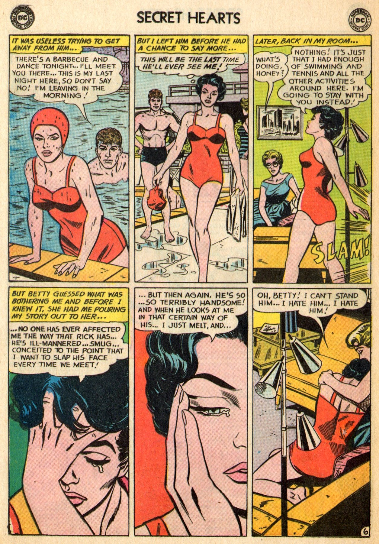 Read online Secret Hearts comic -  Issue #96 - 8