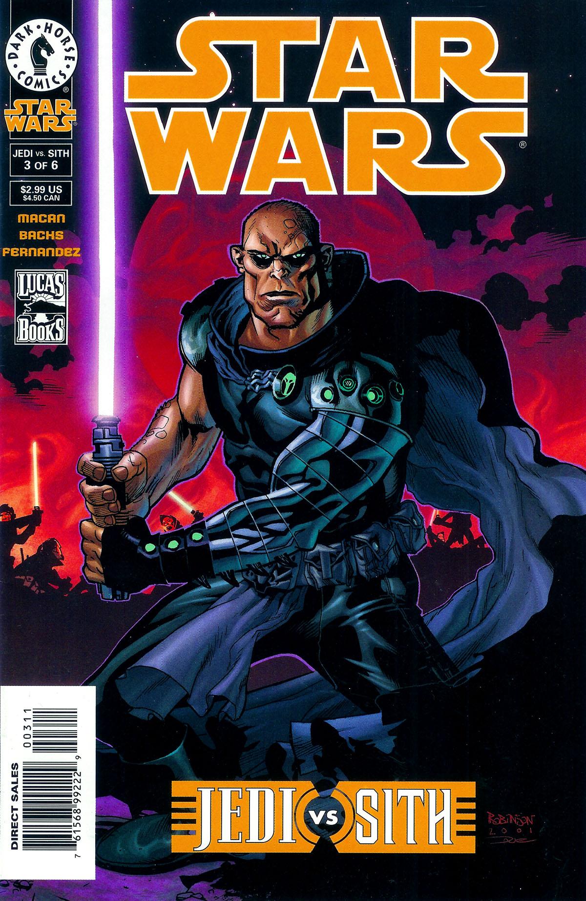 Star Wars: Jedi vs. Sith 3 Page 1