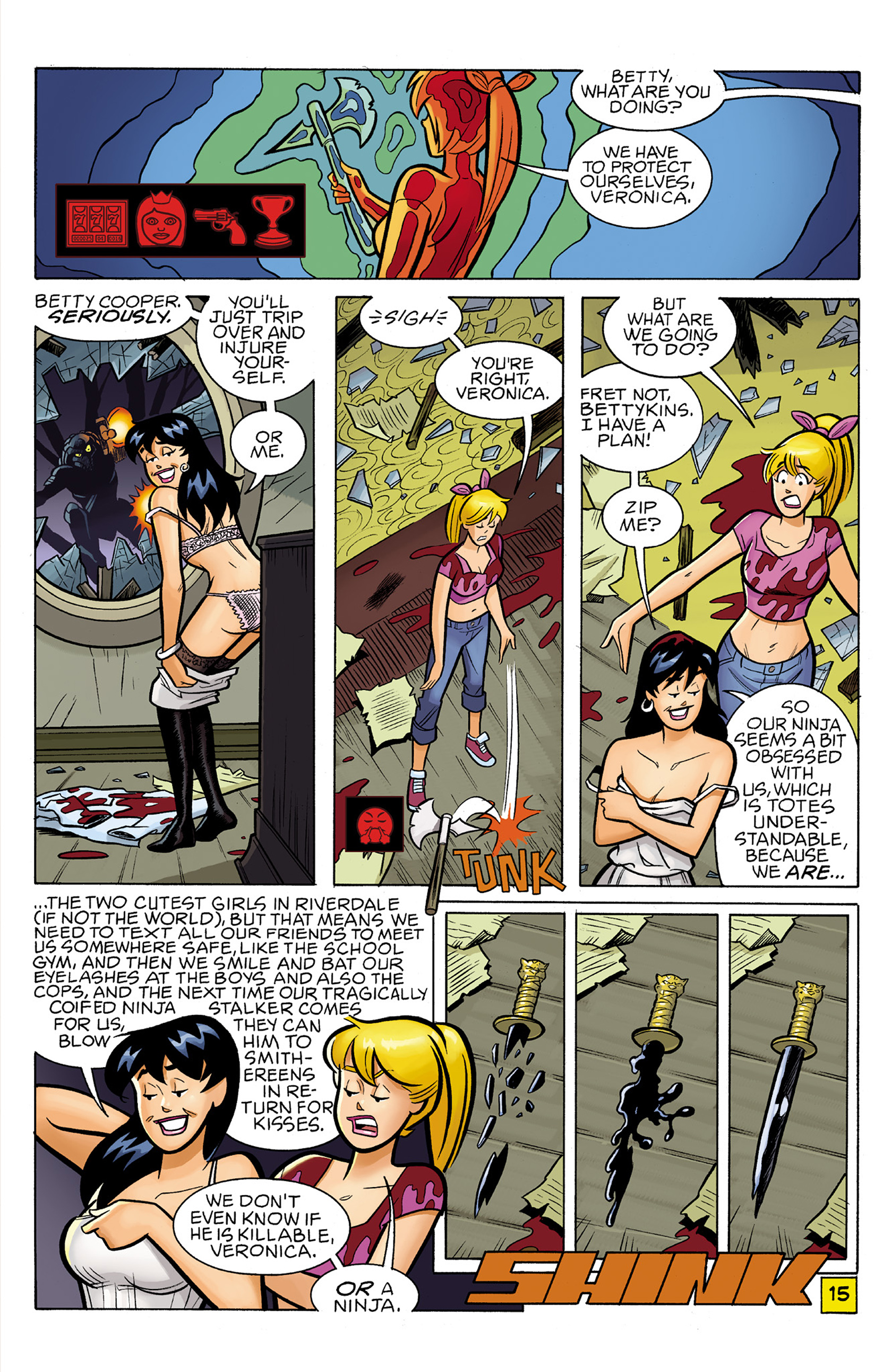 Read online Archie vs. Predator comic -  Issue #2 - 17