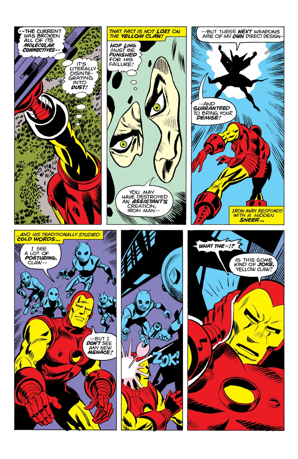 Read online Marvel Masterworks: The Invincible Iron Man comic -  Issue # TPB 10 (Part 1) - 69