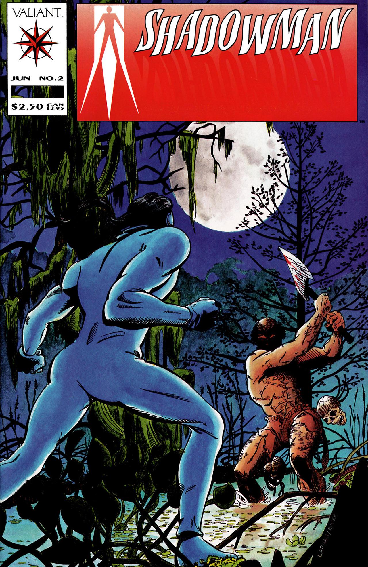 Read online Shadowman (1992) comic -  Issue #2 - 1