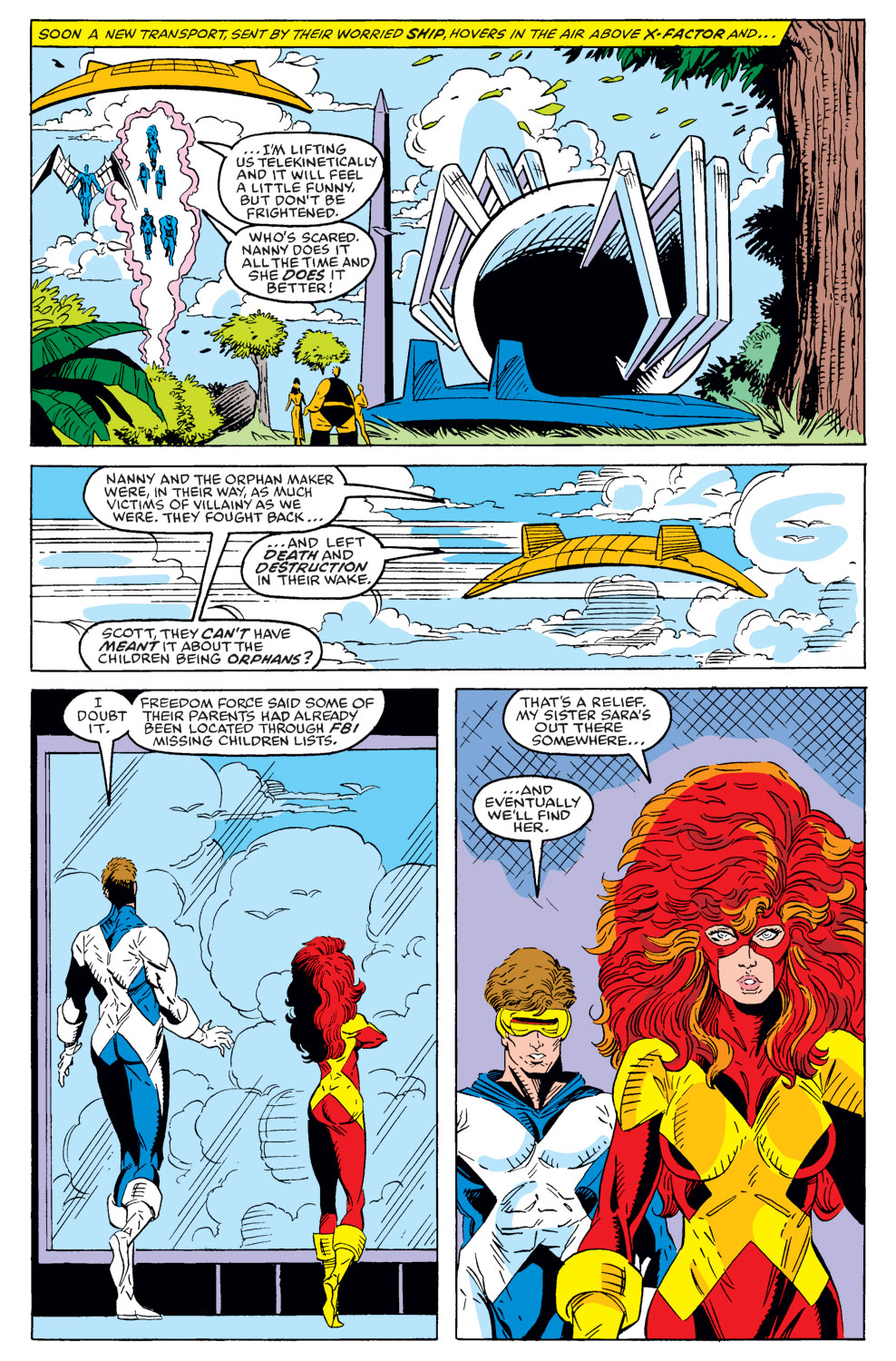 Read online X-Factor (1986) comic -  Issue #40 - 21