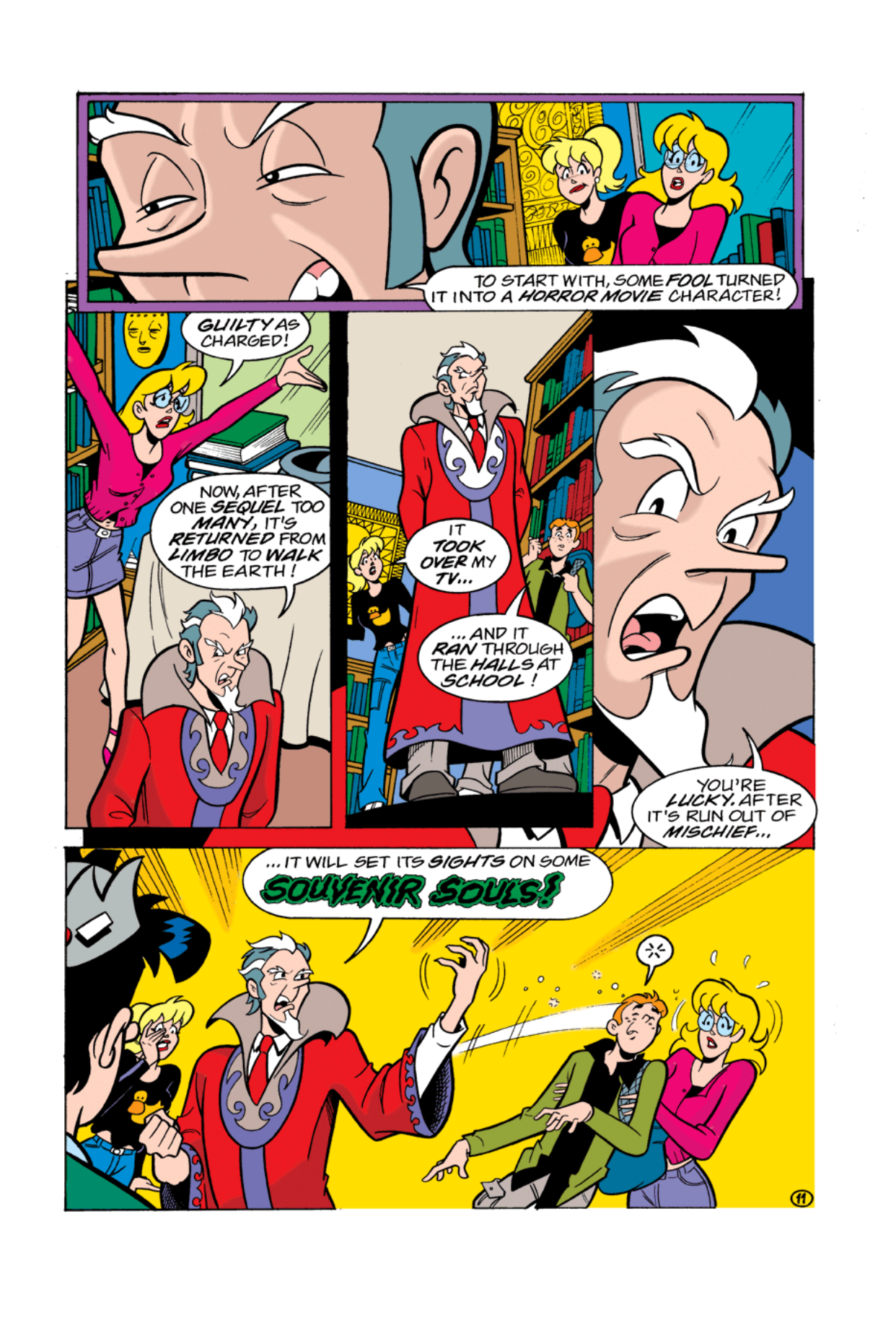 Read online Archie's Weird Mysteries comic -  Issue #2 - 11