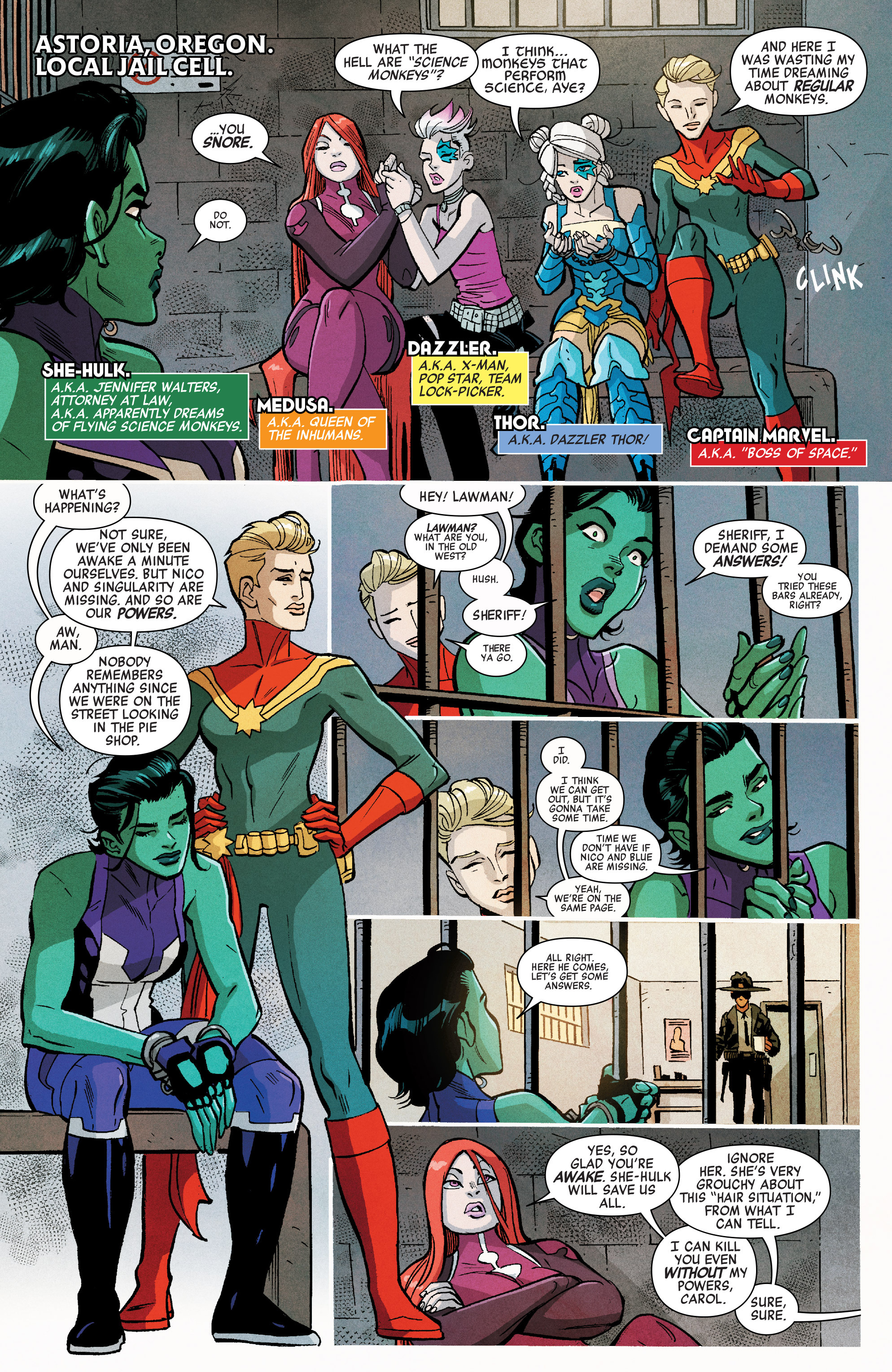 Read online A-Force (2016) comic -  Issue #6 - 4