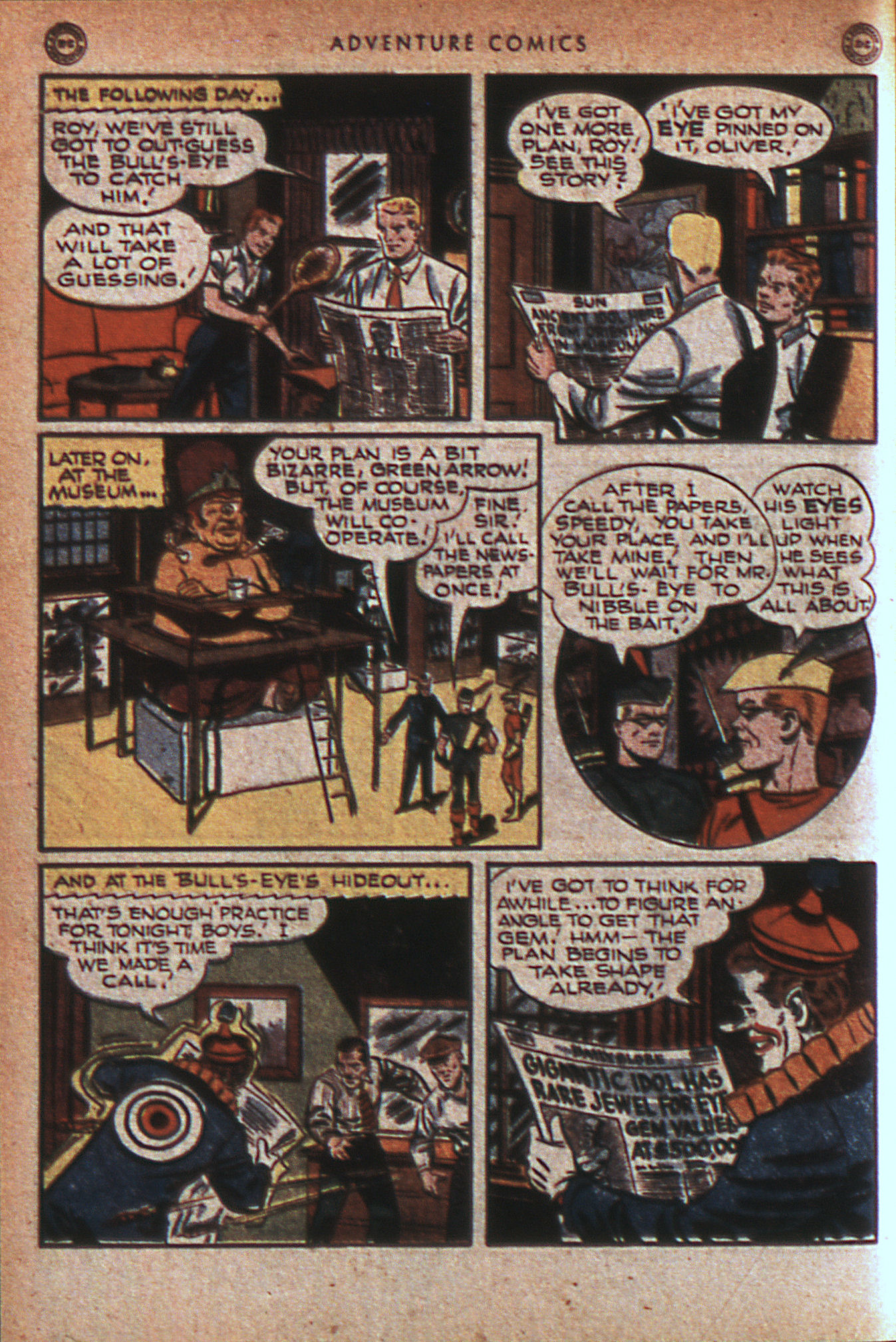 Read online Adventure Comics (1938) comic -  Issue #124 - 29