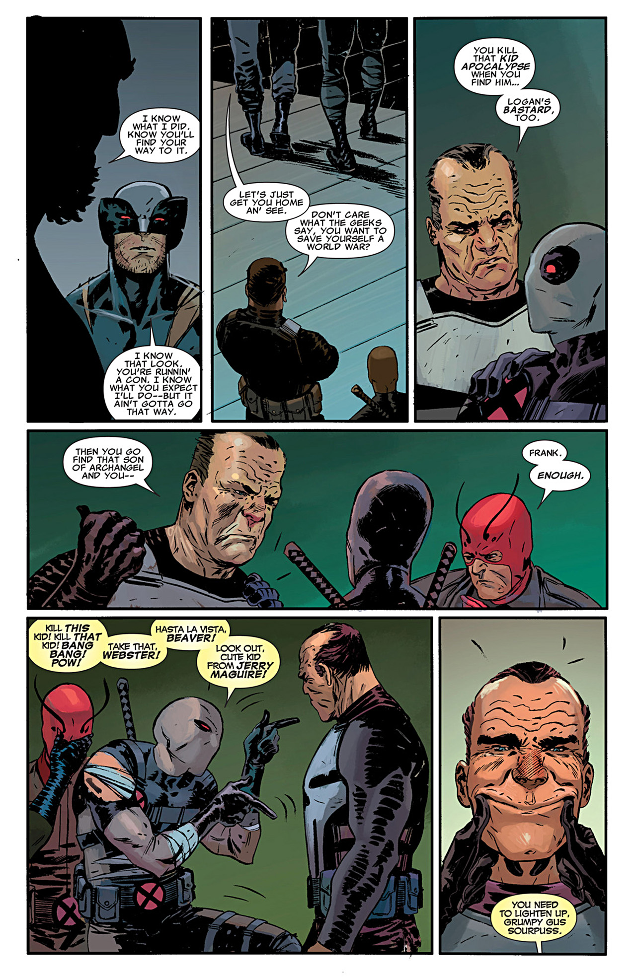 Read online Uncanny X-Force (2010) comic -  Issue #29 - 17