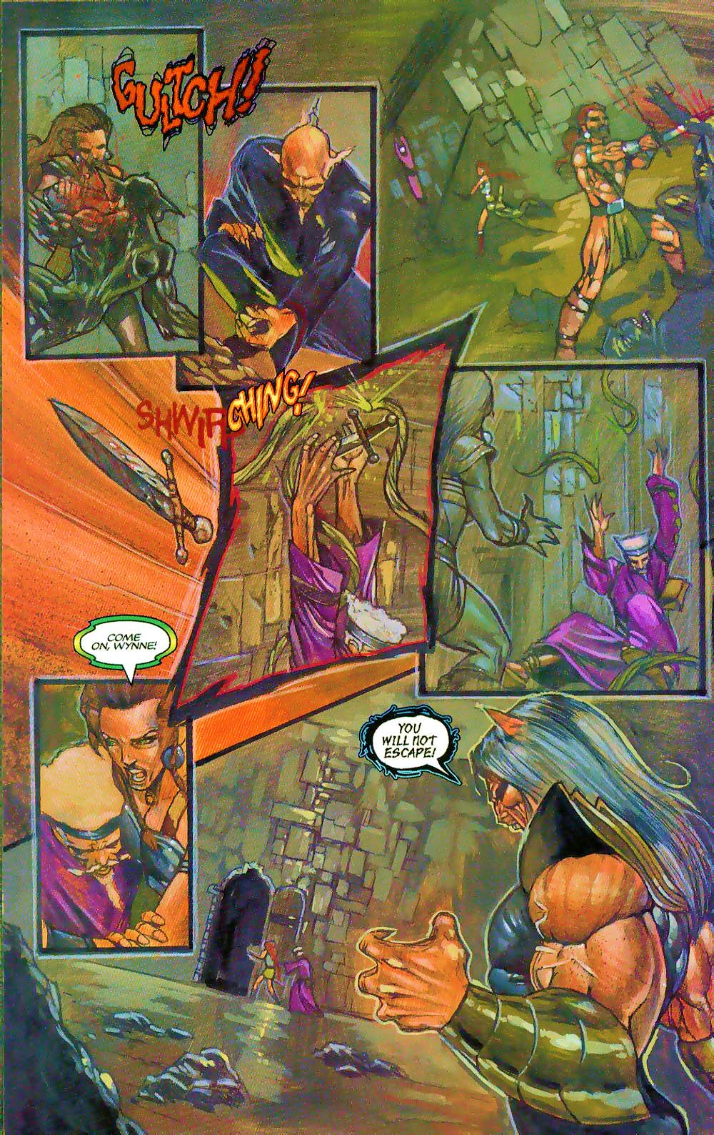 More Than Mortal: Sagas issue 3 - Page 12