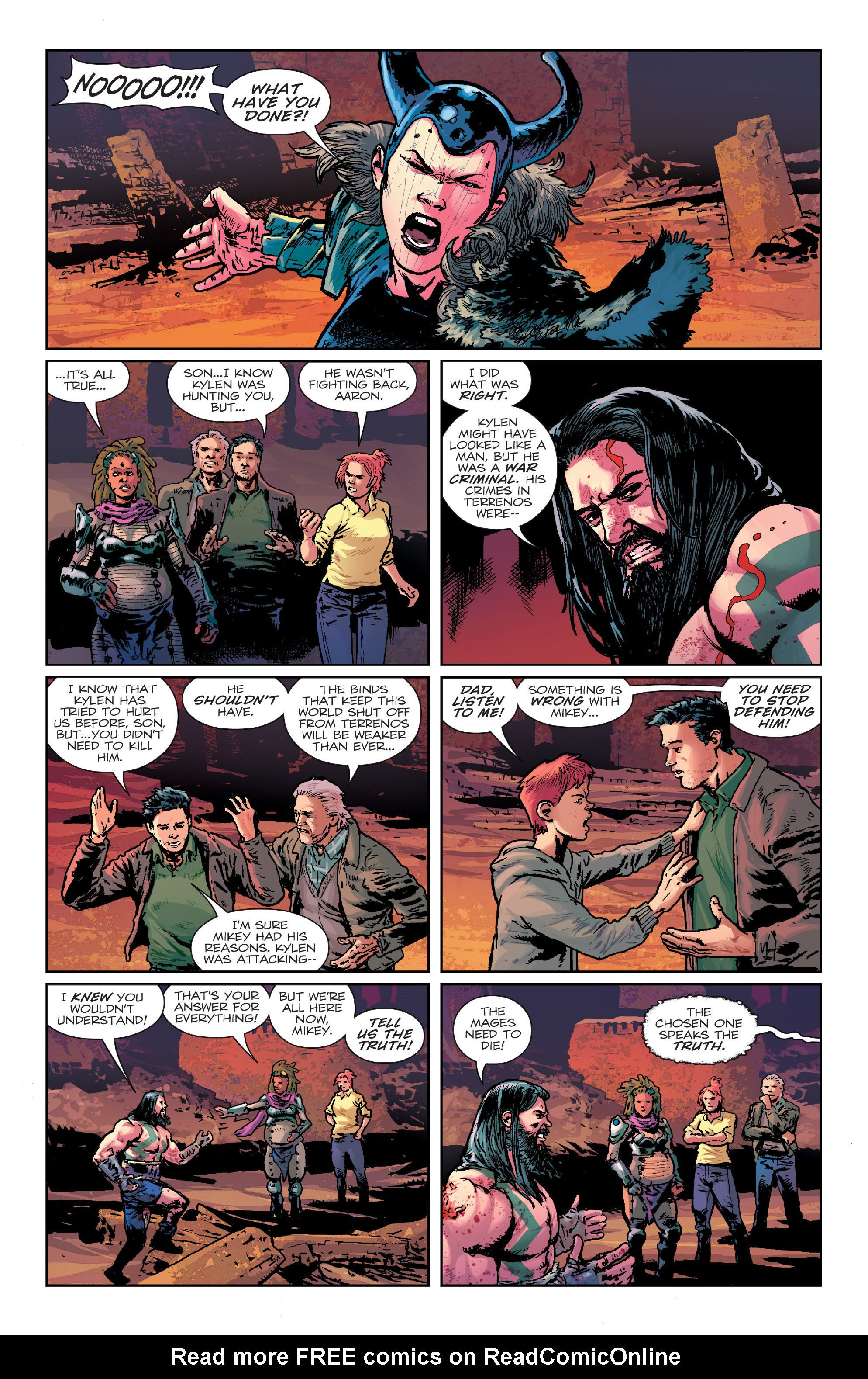 Read online Birthright (2014) comic -  Issue #24 - 16