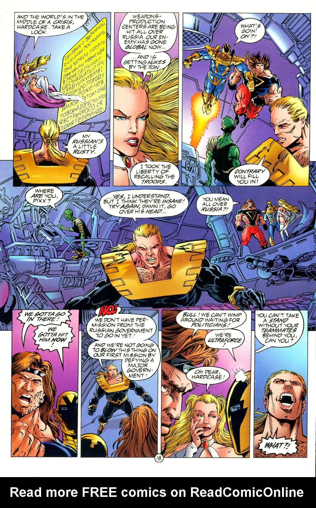 Read online UltraForce (1994) comic -  Issue #2 - 19
