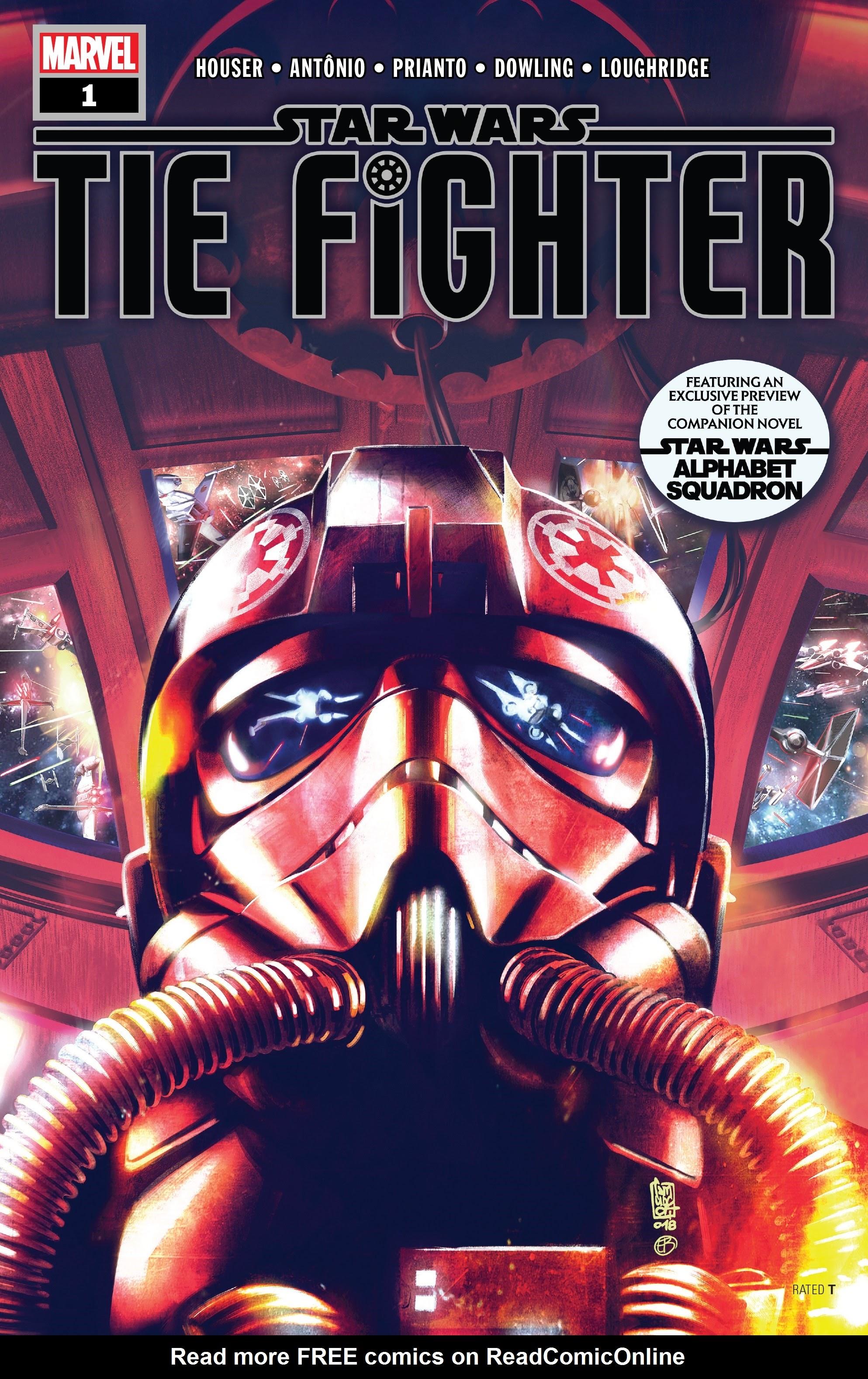 Star Wars: Tie Fighter 1 Page 1
