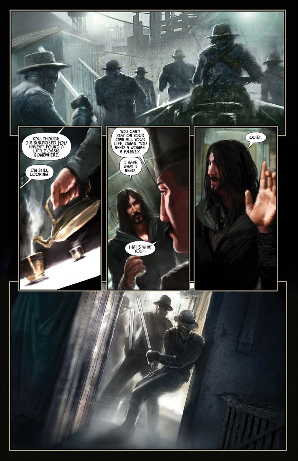 Read online After Dark comic -  Issue #1 - 11