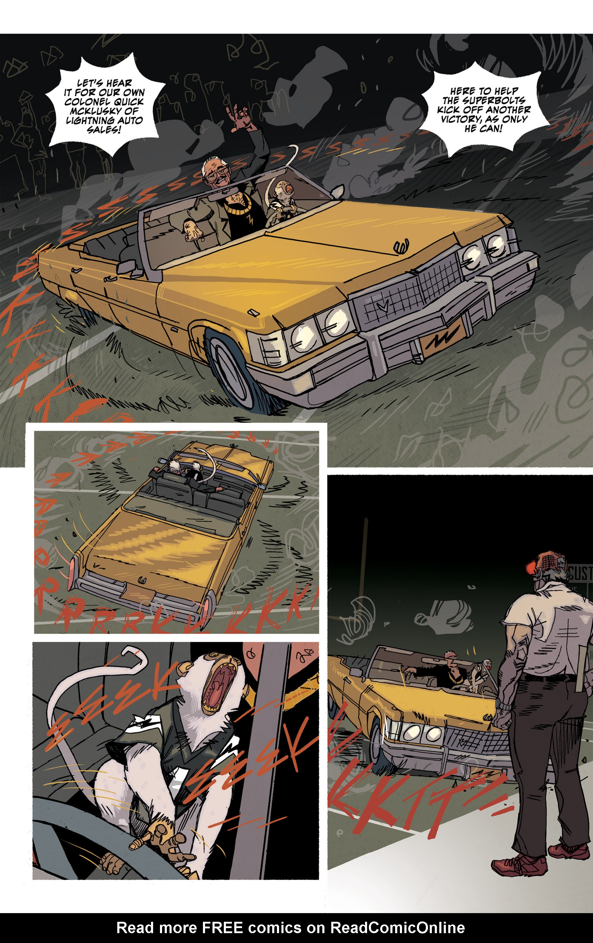 Read online Southern Bastards comic -  Issue #16 - 16