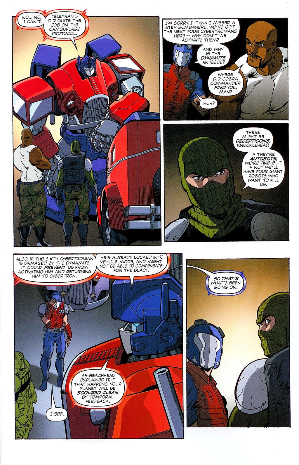 G.I. Joe vs. The Transformers II Issue #2 #3 - English 16