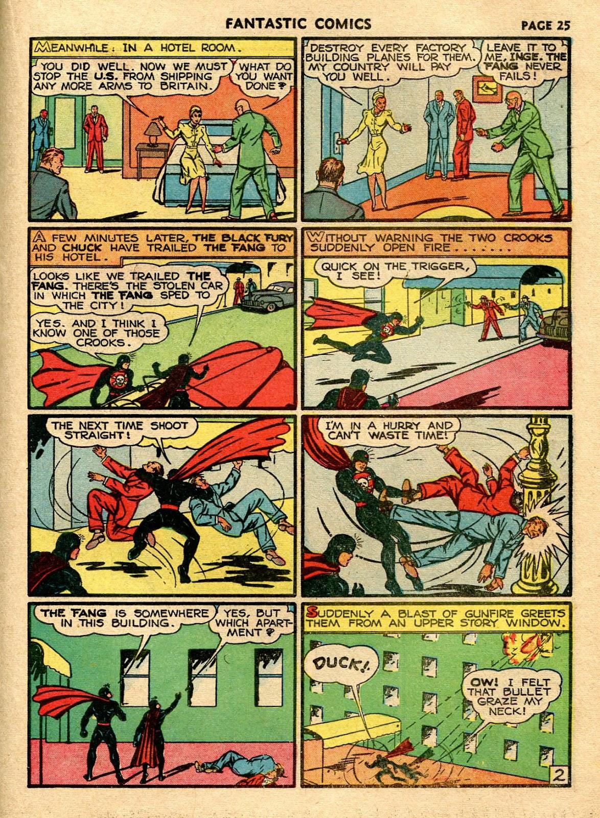 Read online Fantastic Comics comic -  Issue #21 - 27