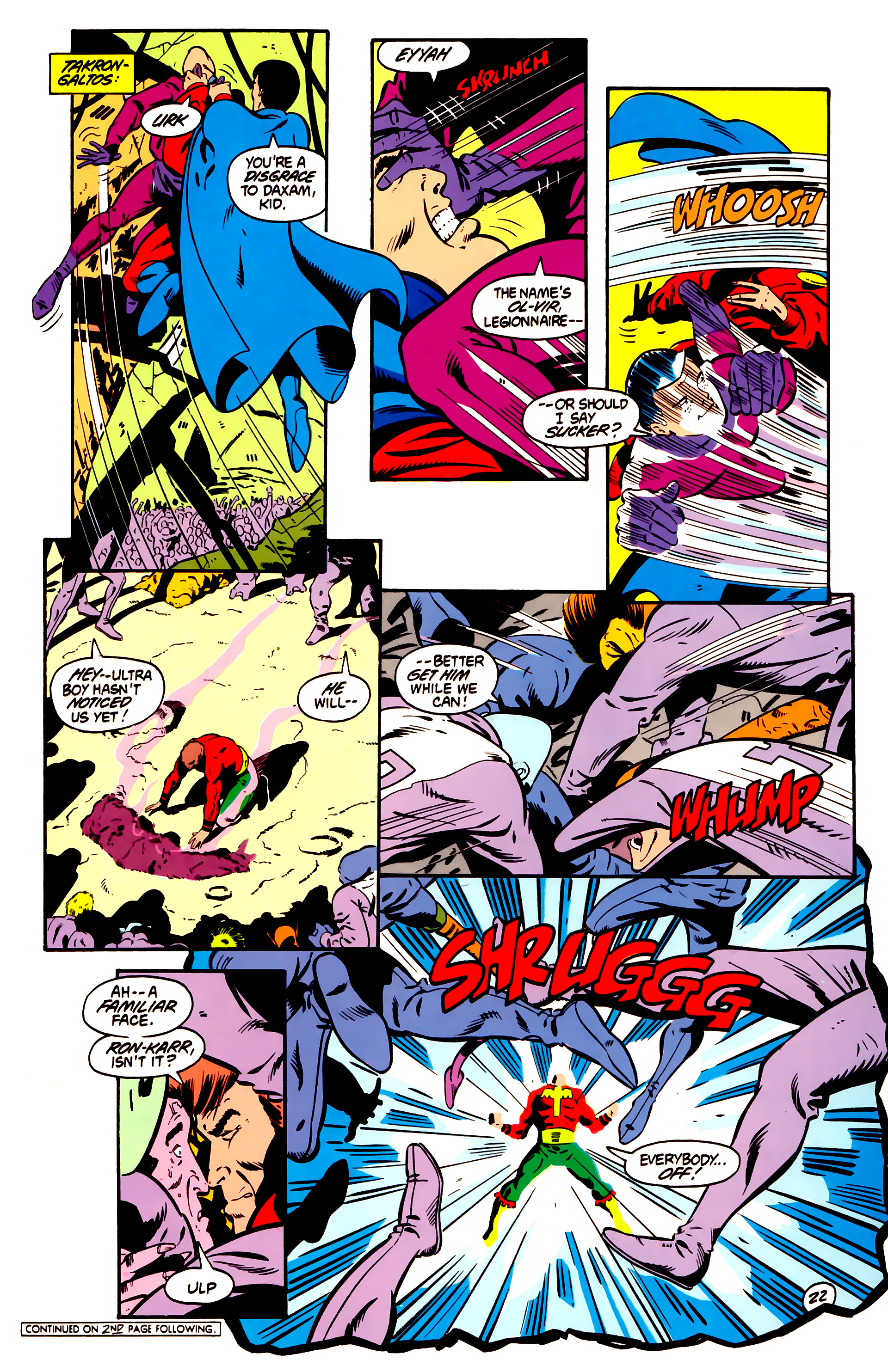 Legion of Super-Heroes (1984) 1 Page 23