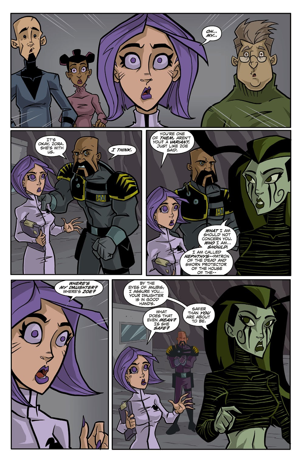 Read online Xombie Reanimated comic -  Issue #2 - 11
