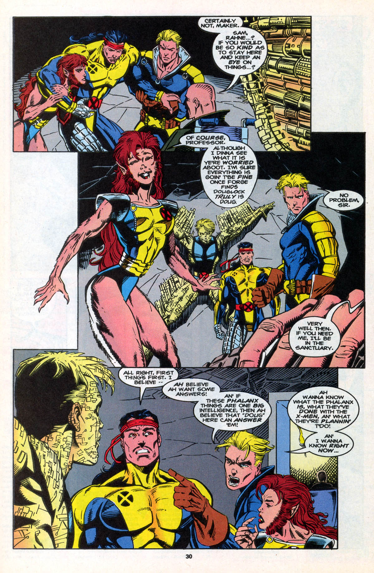 Read online X-Factor (1986) comic -  Issue #106 - 31