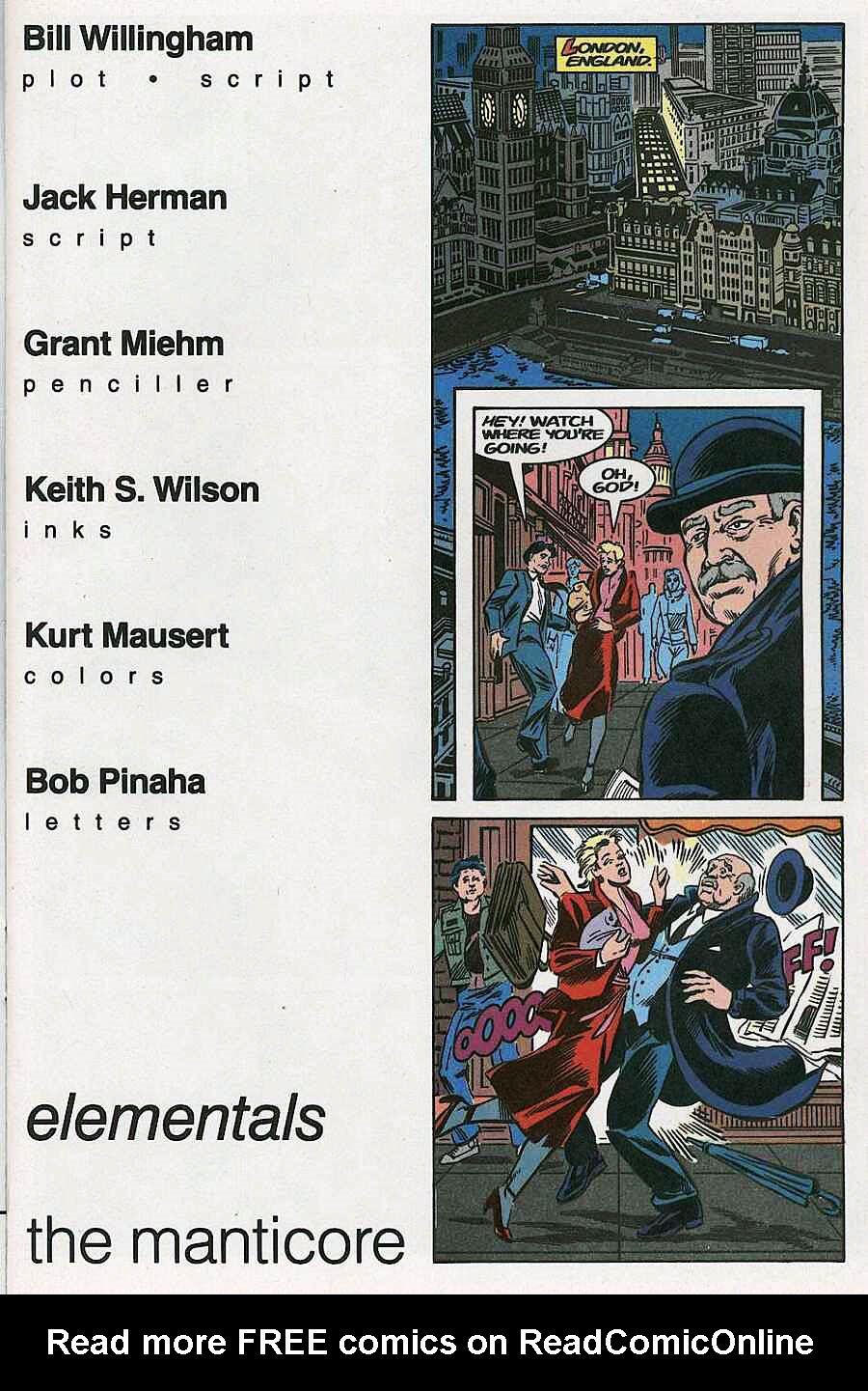 Elementals (1984) issue 19 - Page 3