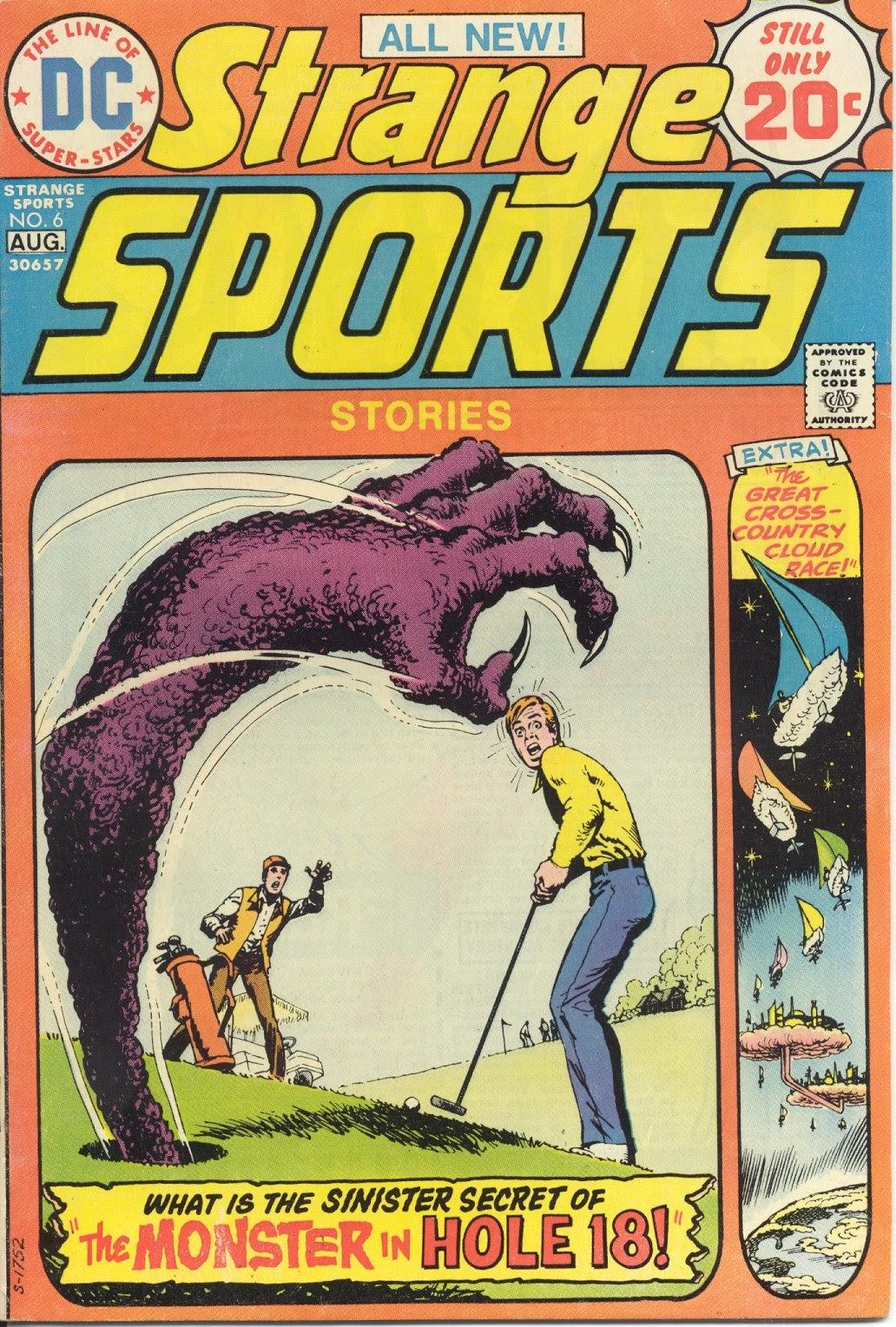 Read online Strange Sports Stories (1973) comic -  Issue #6 - 1
