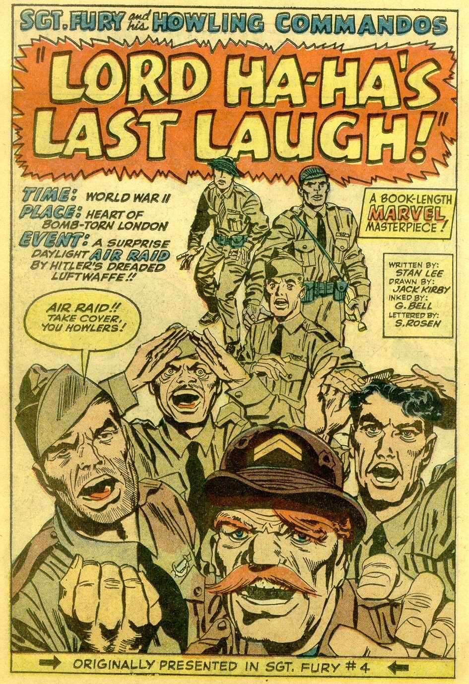 Read online Sgt. Fury comic -  Issue # _Annual 1 - 24