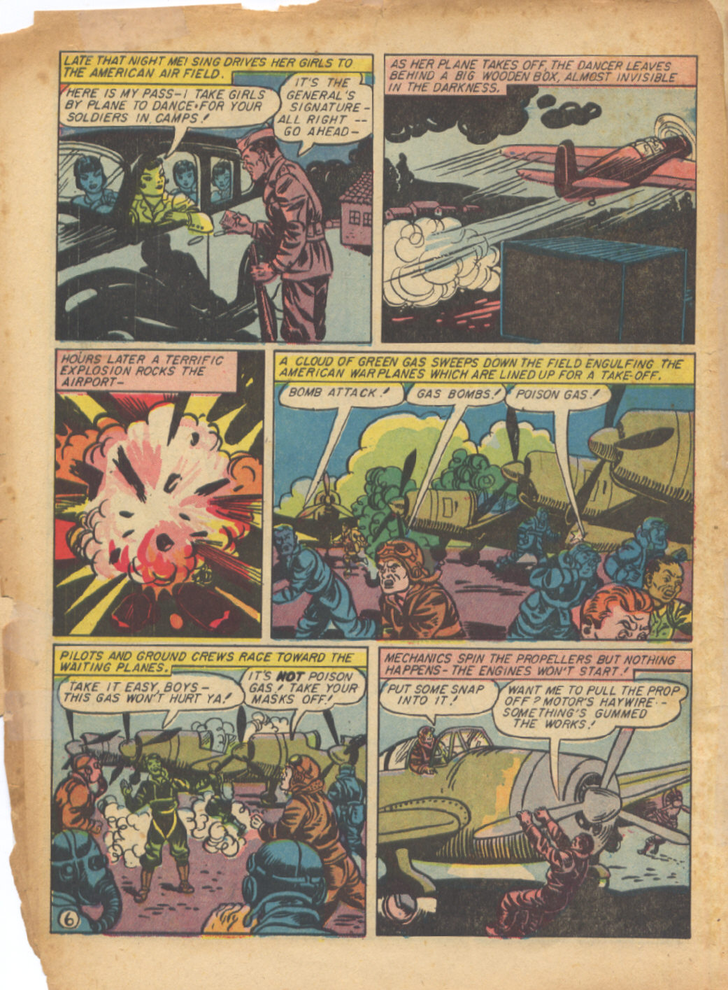 Read online Sensation (Mystery) Comics comic -  Issue #24 - 8