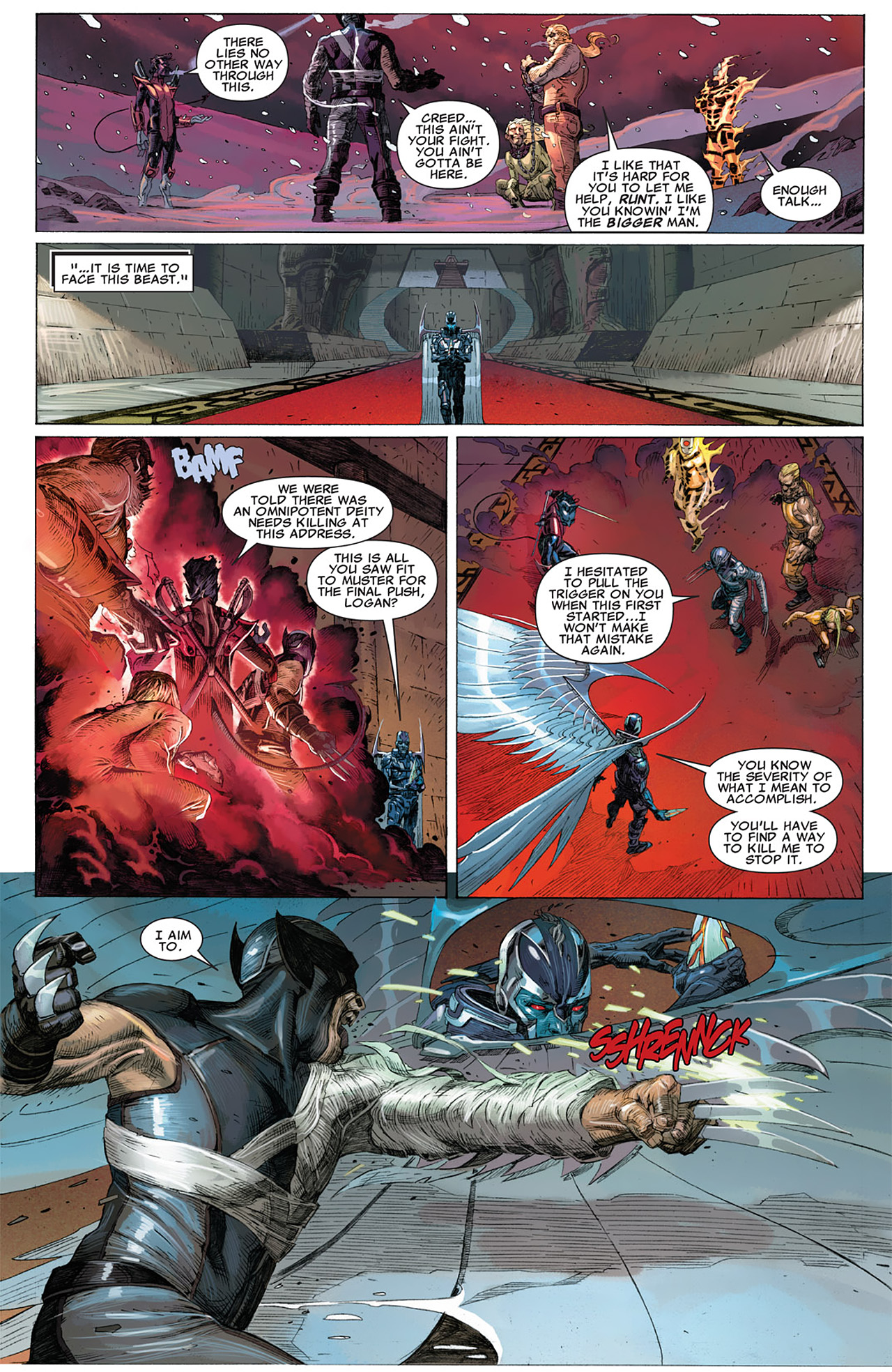 Read online Uncanny X-Force (2010) comic -  Issue #17 - 9