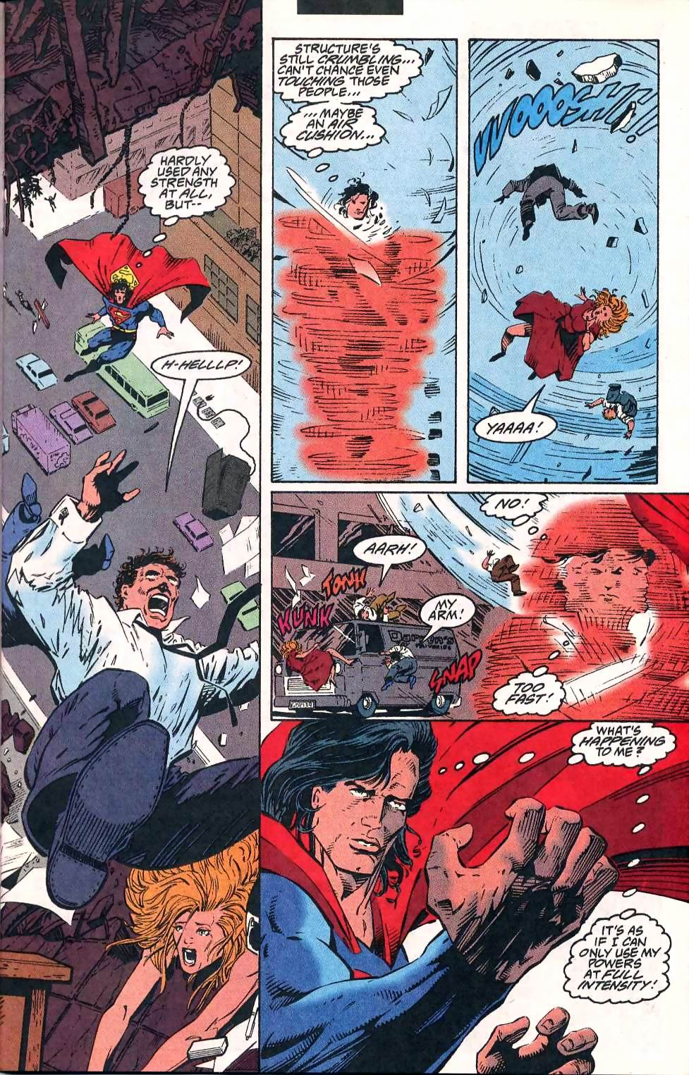 Read online Adventures of Superman (1987) comic -  Issue #511 - 8