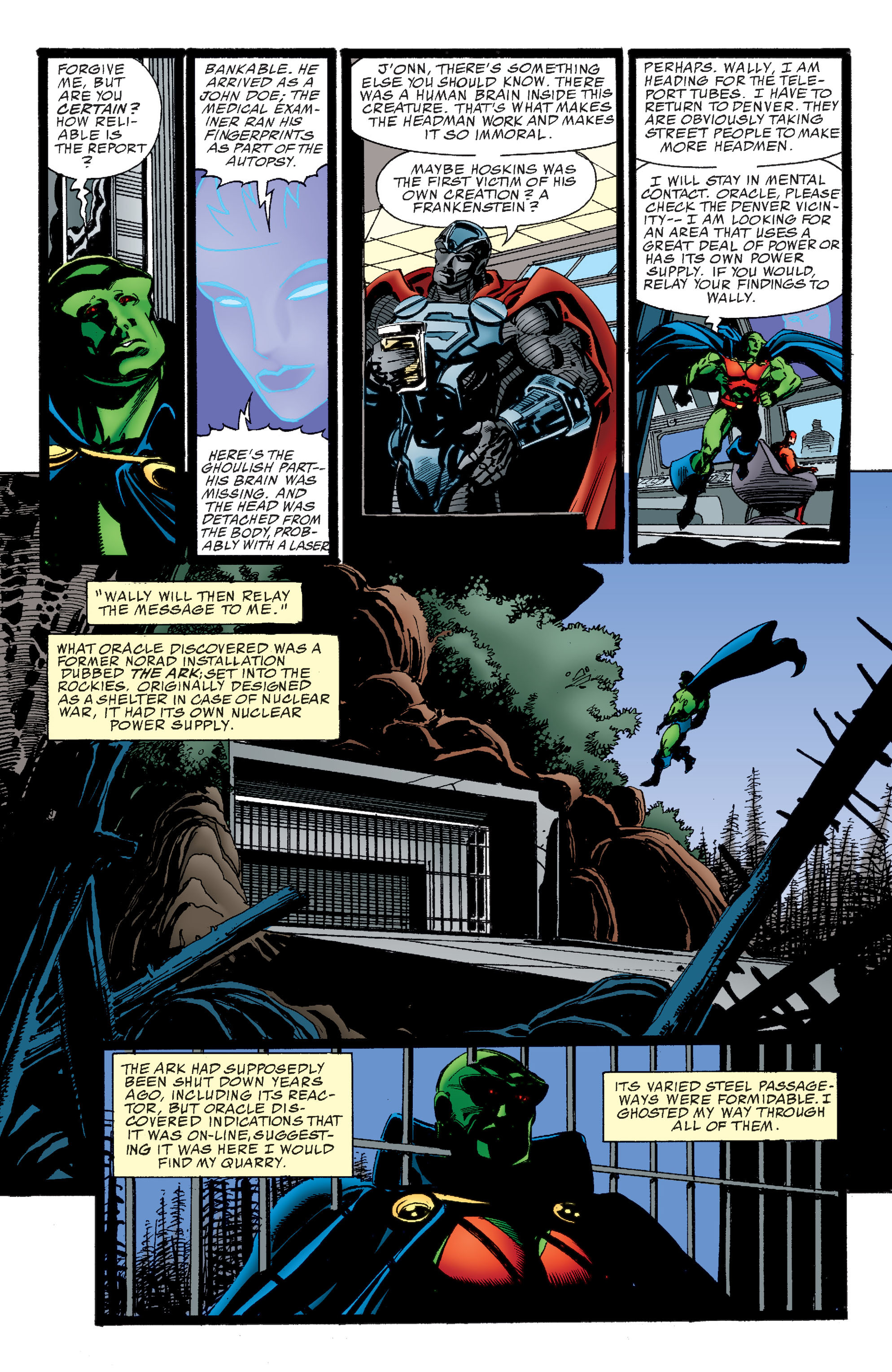 Read online Martian Manhunter: Son of Mars comic -  Issue # TPB - 44