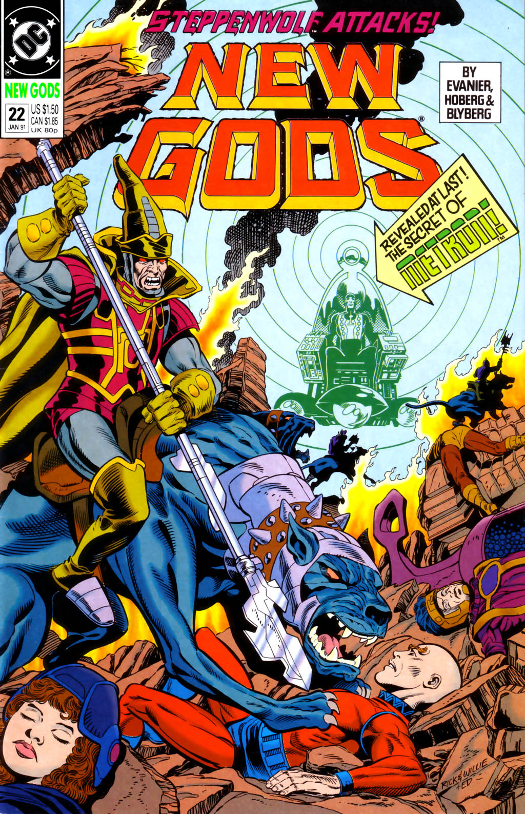 The New Gods (1989) 22 Page 1