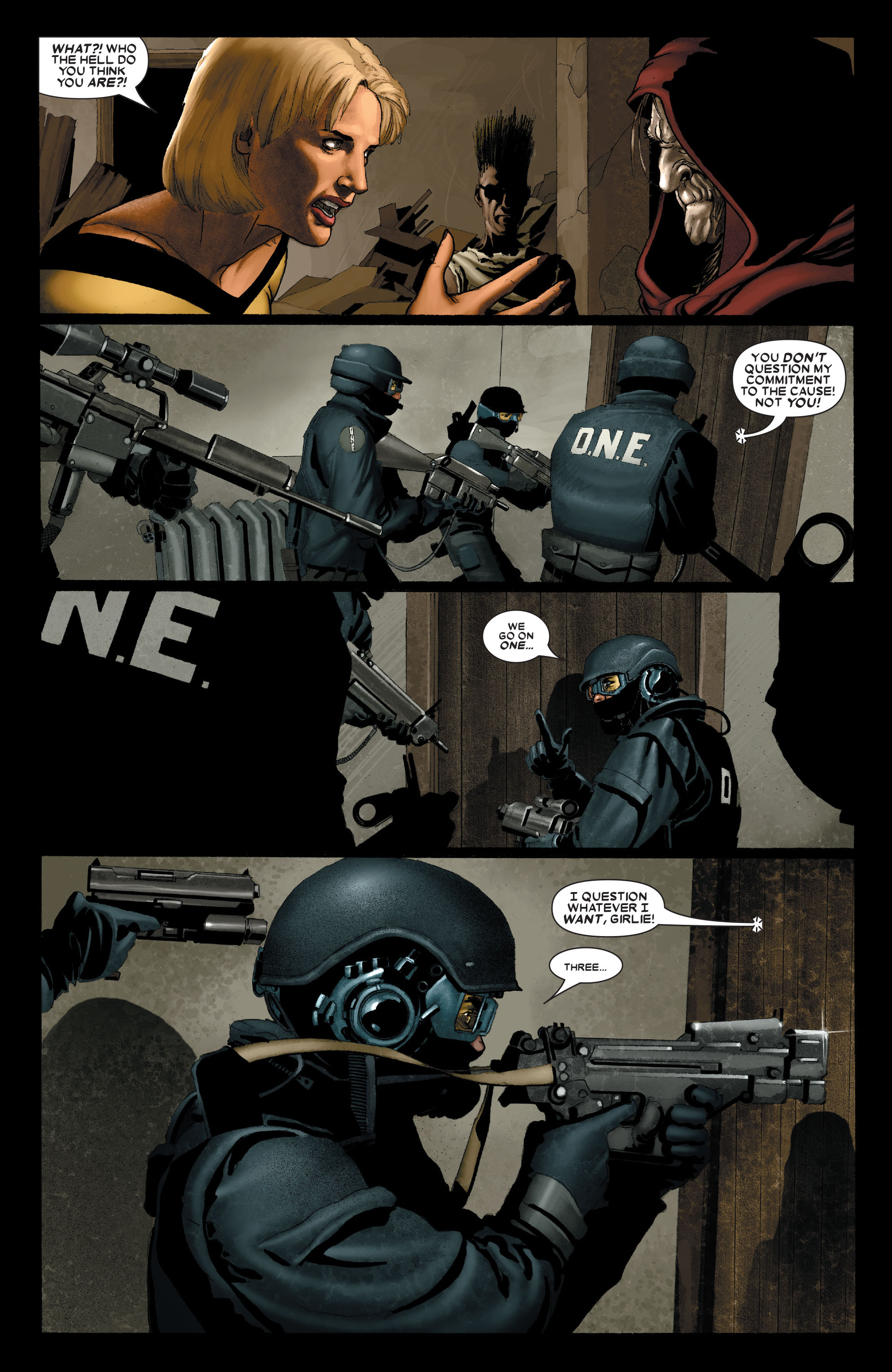 Read online Uncanny X-Men (1963) comic -  Issue #489 - 14