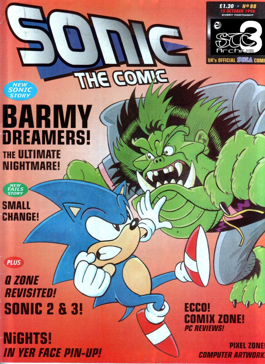 Read online Sonic the Comic comic -  Issue #88 - 1