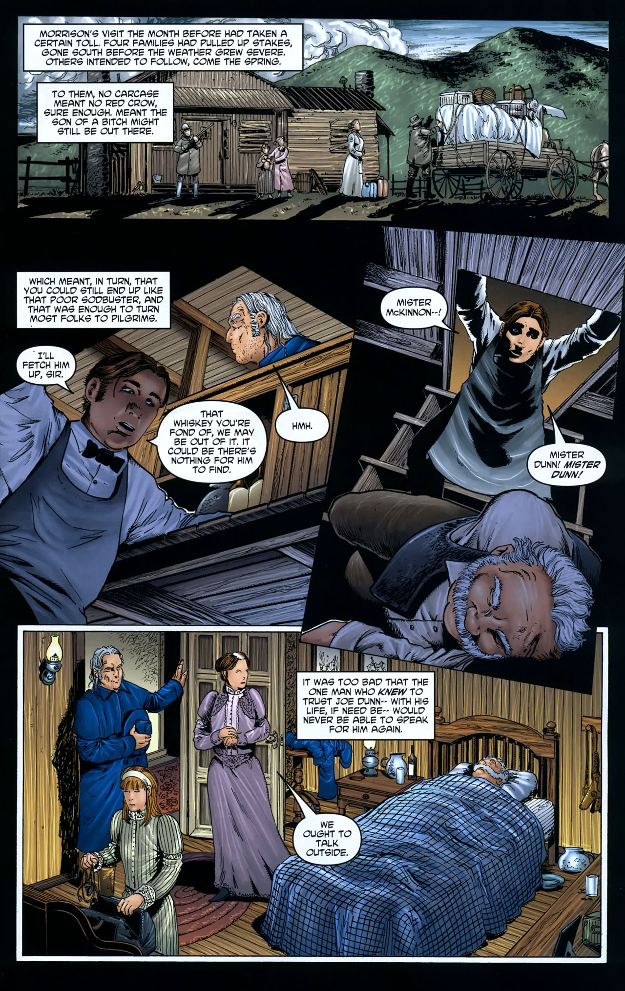 Read online Garth Ennis' Streets of Glory comic -  Issue #5 - 7
