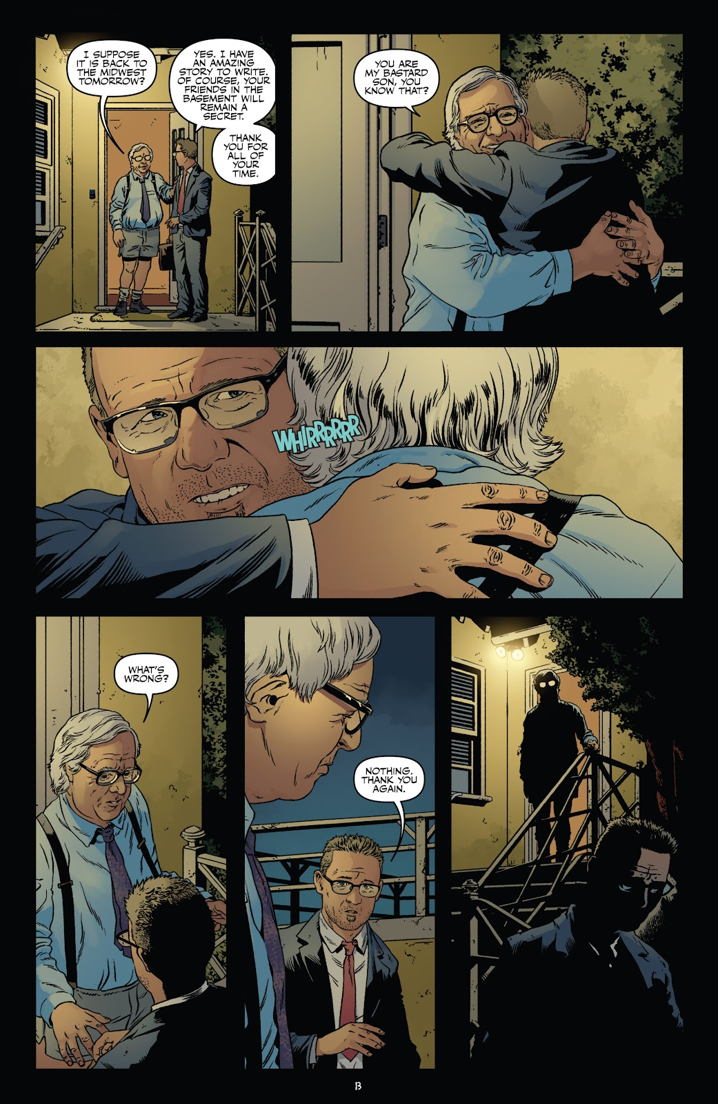 Read online Shadow Show: Stories in Celebration of Ray Bradbury comic -  Issue #3 - 15
