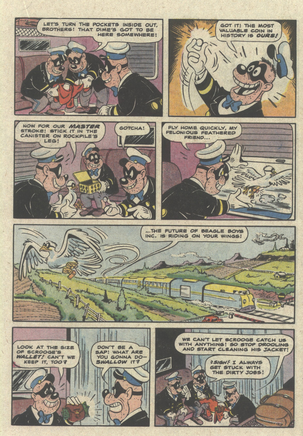 Read online Uncle Scrooge (1953) comic -  Issue #228 - 19