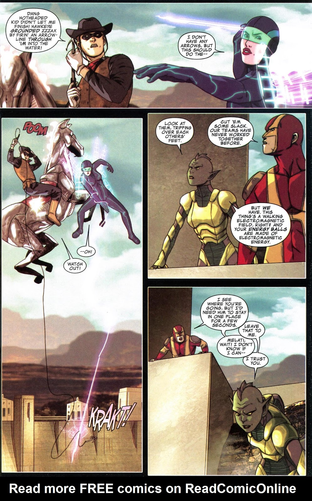 Read online Avengers: The Initiative comic -  Issue # _Special 1 - 8