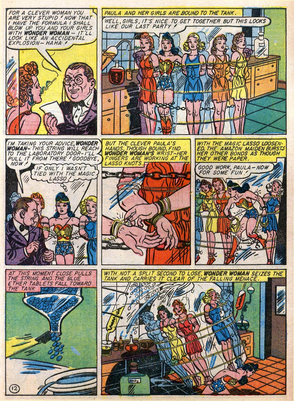 Read online Sensation (Mystery) Comics comic -  Issue #27 - 14