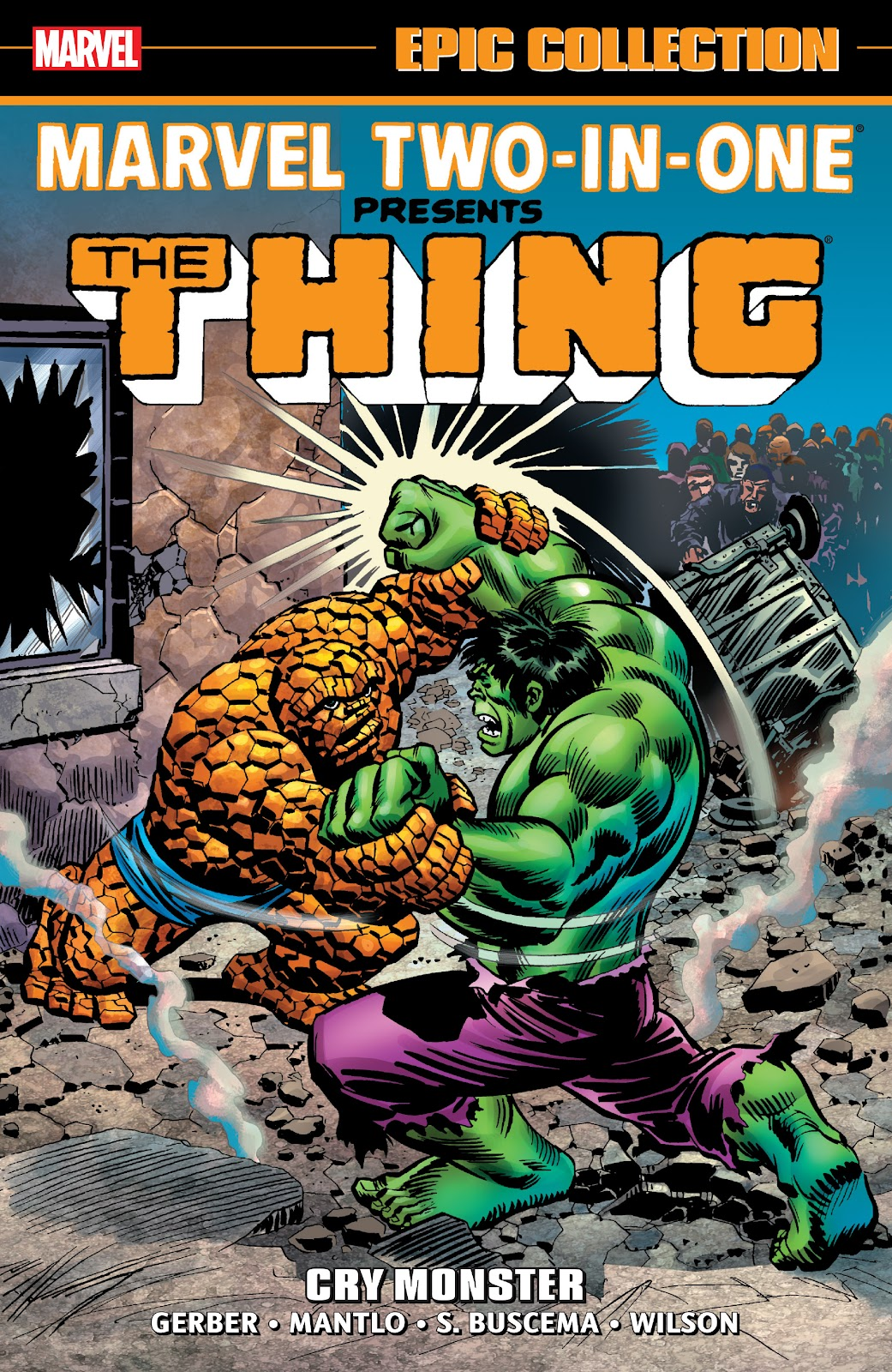 Read online Marvel Two-In-One Epic Collection: Cry Monster comic -  Issue # TPB (Part 1) - 1