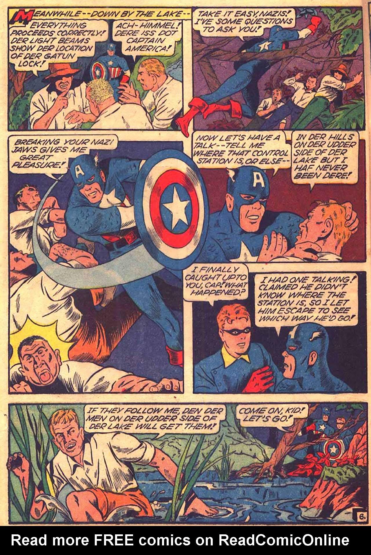 Read online All-Winners Comics comic -  Issue #9 - 21