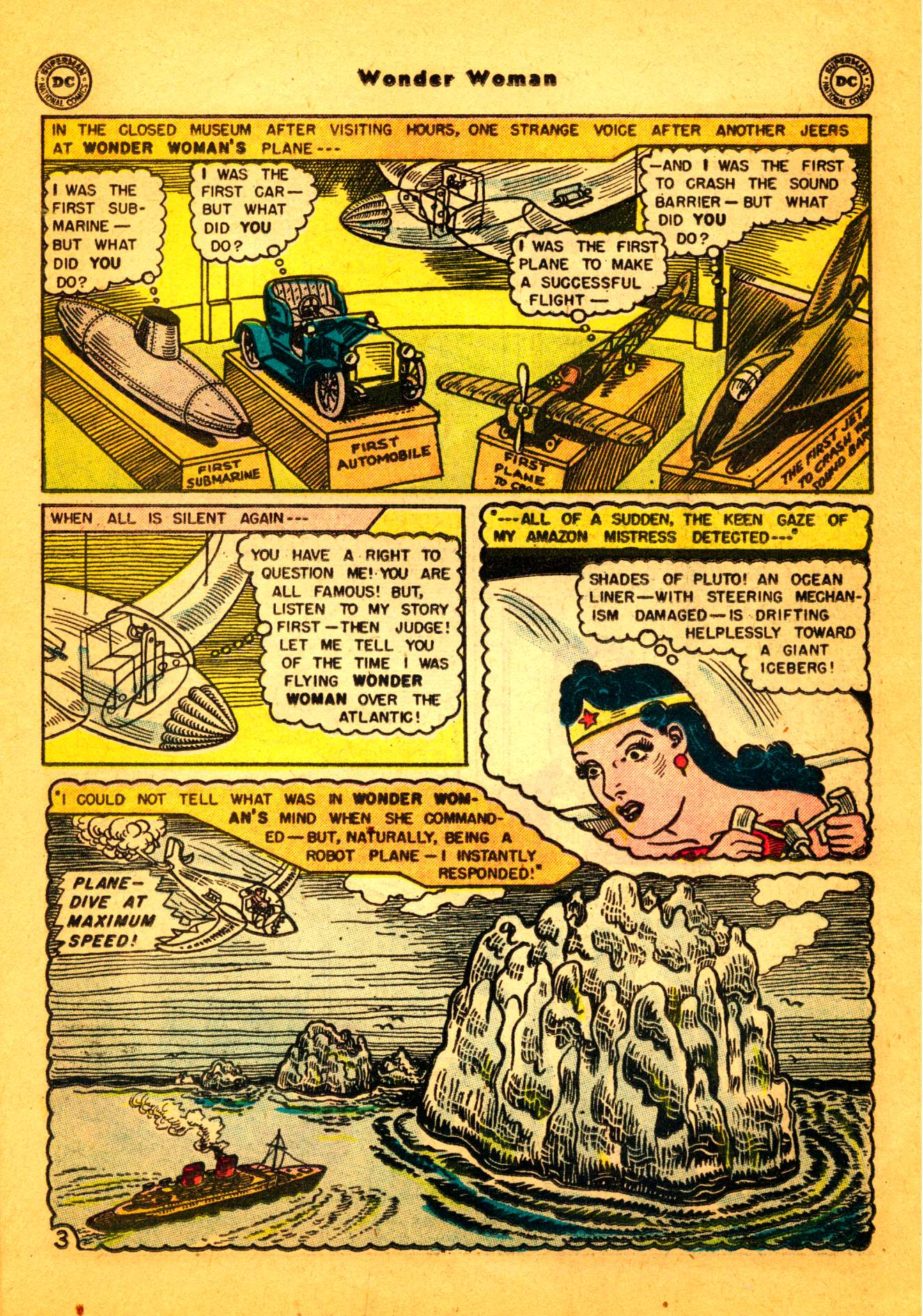Read online Wonder Woman (1942) comic -  Issue #86 - 17