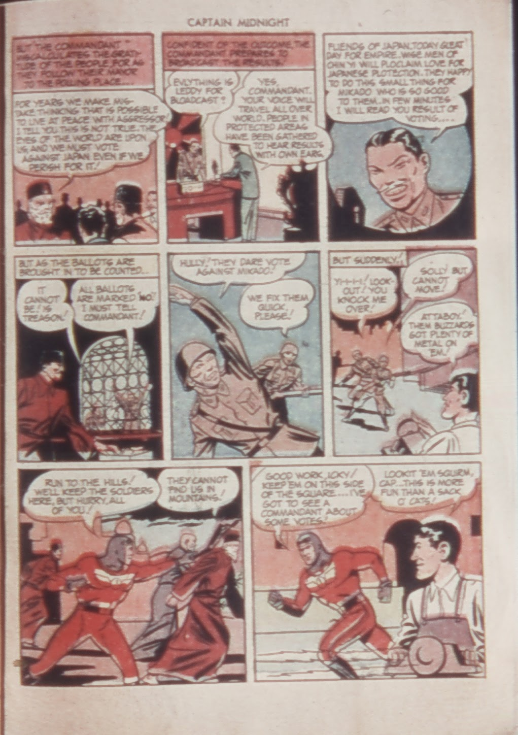 Captain Midnight (1942) issue 21 - Page 31