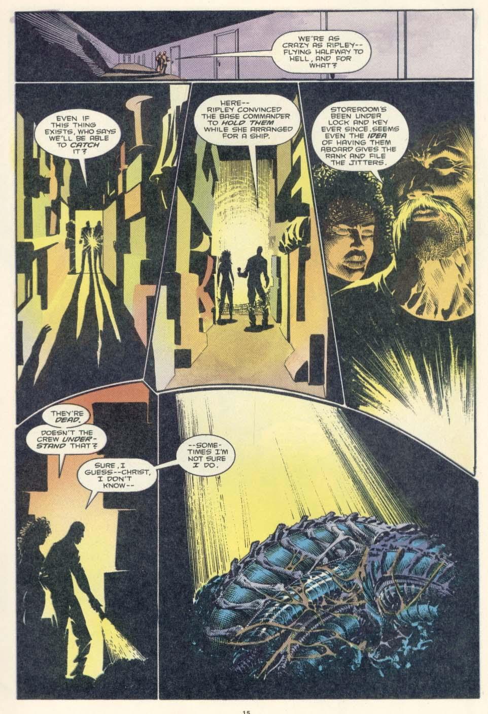 Read online Aliens: Earth War comic -  Issue #2 - 17