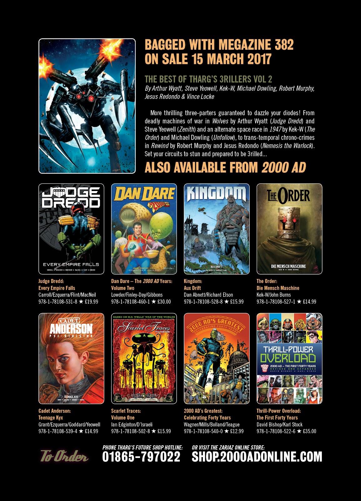 Judge Dredd Megazine (Vol. 5) Issue #381 #180 - English 130