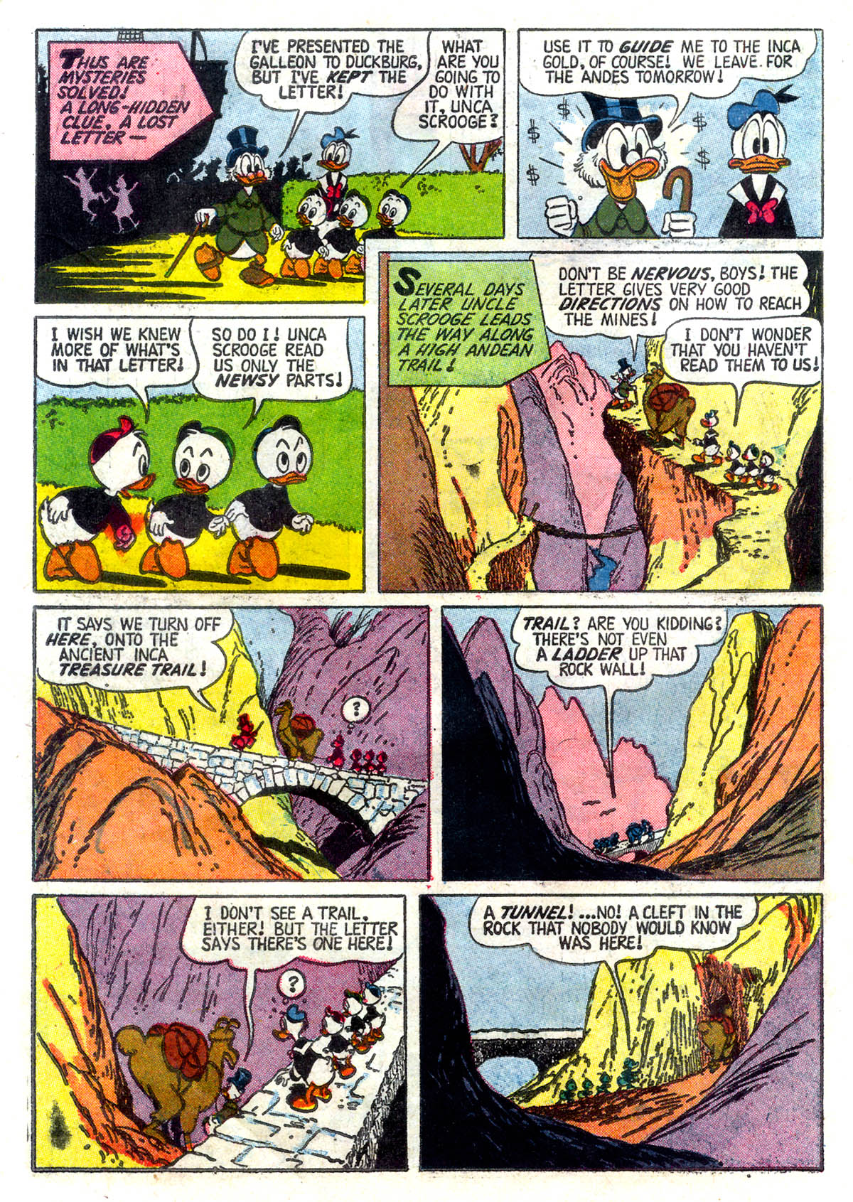 Read online Uncle Scrooge (1953) comic -  Issue #26 - 6