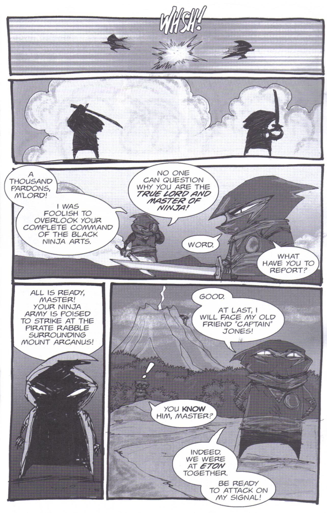 Read online Pirates vs. Ninjas: Global Harming comic -  Issue # Full - 18